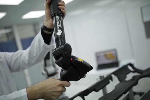 We established our new 3-D Scanning Lab